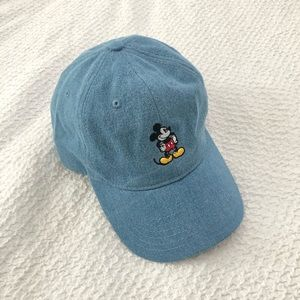 Accessories - Disney Denim Mickey Mouse Cap Hat